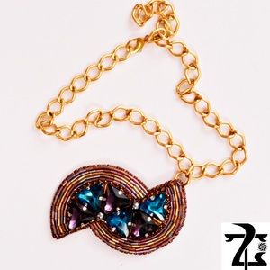 Handmade necklace / brooch